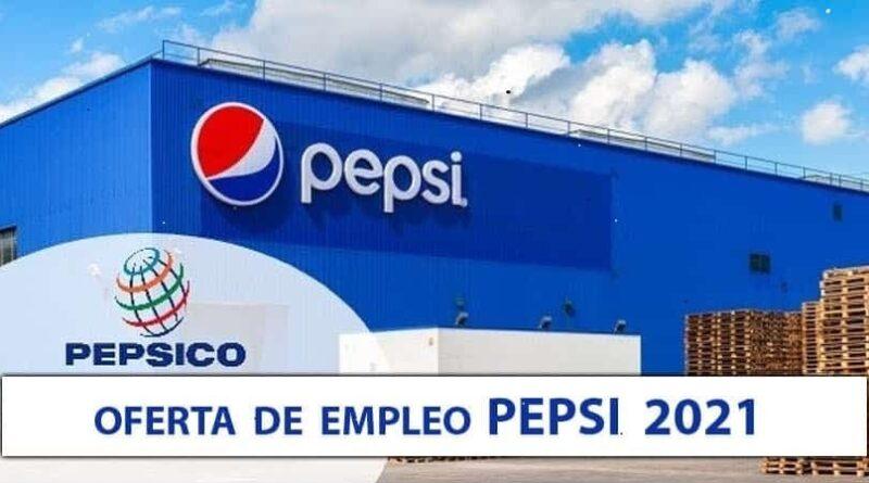 OFERTA DE EMPLEO PEPSI